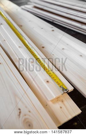 Measuring Wooden Slot And Key Boards
