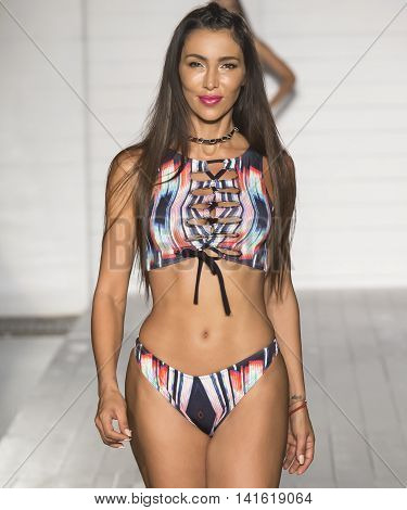 Lila Nikole X Kruzin - 2017 Miami Swim Fashion Week