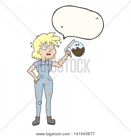 too much coffee freehand drawn speech bubble cartoon