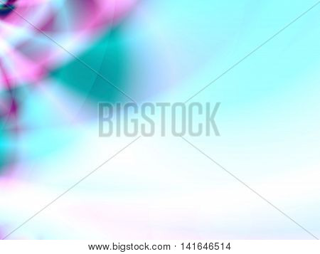 Abstract background with gradient multiple colors for ppt template - purple, blue, white.
