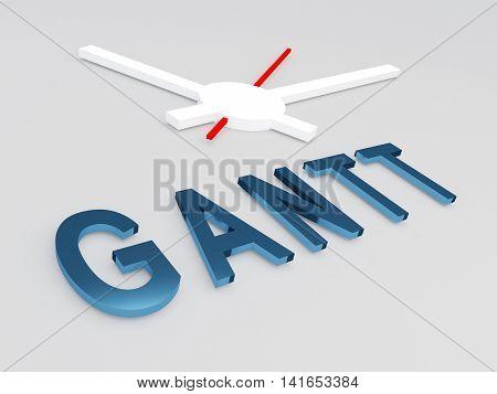 Gantt - Planning Concept