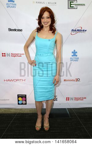 LOS ANGELES - AUG 6:  Elizabeth J. Carlisle at the 4th Annual Ed Asner And Friends Poker Tournament For Autism Speaks at the South Park Center  on August 6, 2016 in Los Angeles, CA