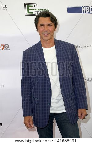 LOS ANGELES - AUG 6:  Lou Diamond Phillips at the 4th Annual Ed Asner And Friends Poker Tournament For Autism Speaks at the South Park Center  on August 6, 2016 in Los Angeles, CA