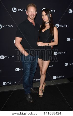 LOS ANGELES - AUG 4:  Ian Ziering, Erin Kristine Ludwig at the 4Moms launch self-installing car seat at the Petersen Automotive Museum on August 4, 2016 in Los Angeles, CA