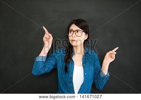 University Student Making Decision For The Future Job