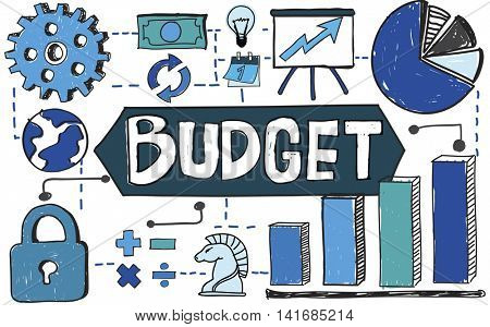 Budget Finance Banking Expenditures Economy Concept