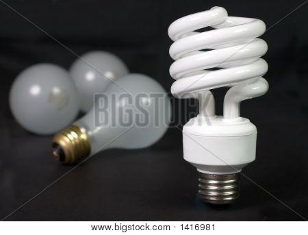 Fluorescent Against Incandescent
