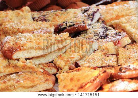 Czech Fruit Cakes