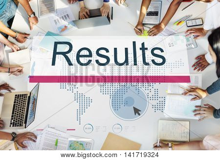 Results Efficiency Evaluate Outcome Progress Concept