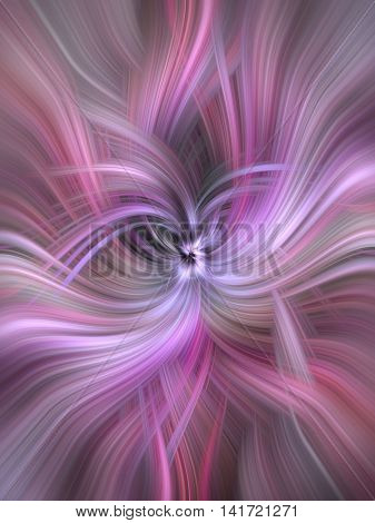 Pink purple colored abstract patterns. Concept Experience. Series human values