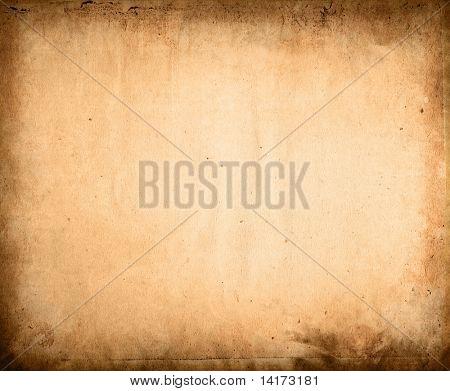 alte Papier Texturen - perfekten Hintergrund mit Platz für Text oder Bild