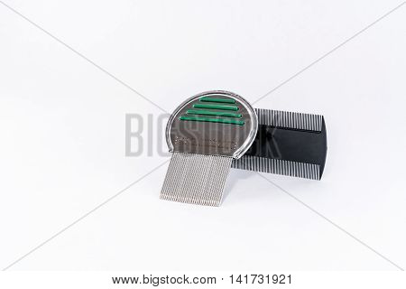 Two different types of louse comb for lice treatment.