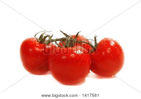 Four Organic Tomatoes