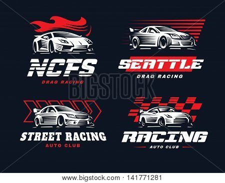 Sport Car Logo Vector Photo Free Trial Bigstock