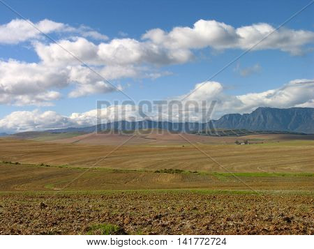 Winter Clouds, Western Cape, South Africa