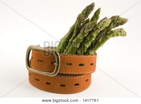 Aspargus And A Belt