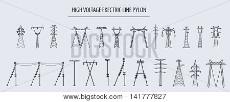Electricity Pylon High Voltage_1
