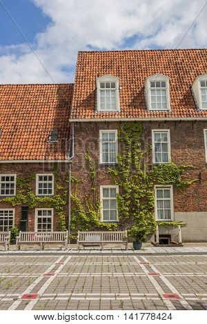 Building Of The Former Orphanage In Groningen