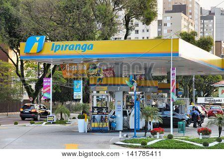 Brazil Gas Station