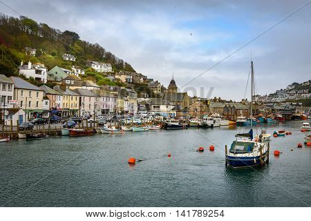 Looe is a small coastal town fishing port and civil parish in the former Caradon district of south-east Cornwall UK.