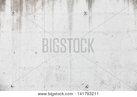 New white concrete wall background photo texture