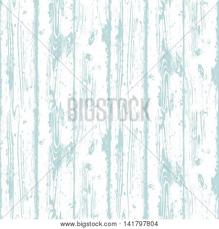 Decorative Wooden Seamless Pattern. Endless light blue background with realistic wood texture. Grained and textured backdrop for decoration, wallpaper, wrapping, digital paper, scrapbooking poster