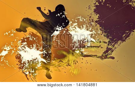 Martial art background