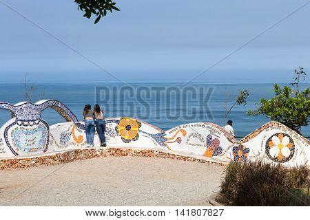 Love Park In Miraflores Lima