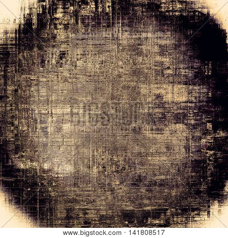 Spherical scratched grunge background or spotted vintage texture. With different color patterns: yellow (beige); brown; gray; purple (violet); black