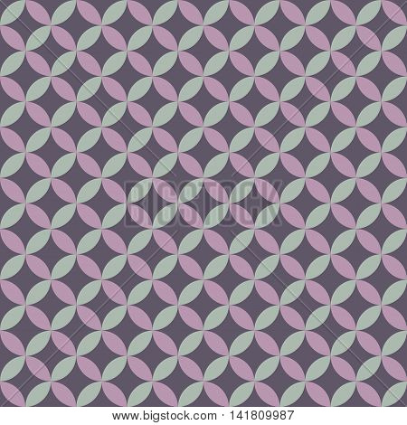 seamless circle pattern and background vector illustration