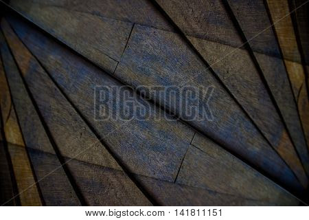 Take photos of the wooden walls to overlap, Abstract background.