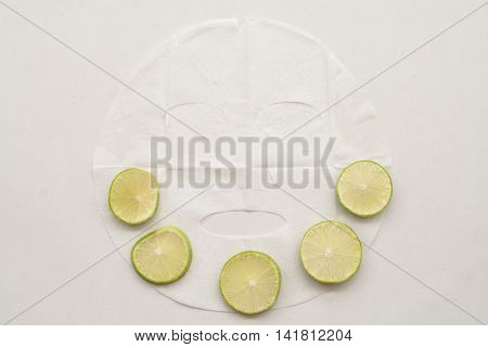natural sheet mask for the face herbal is cucumber
