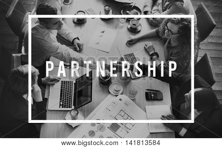 Partnership Alliance Association Relationship Unity Concept