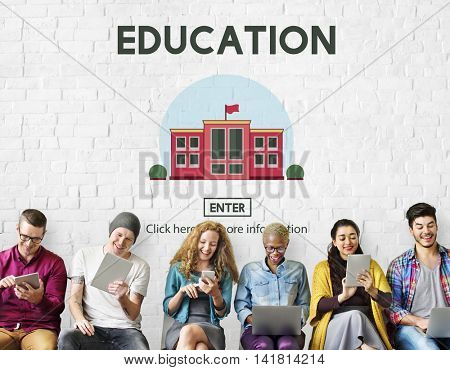 Education University School Study Learn Concept