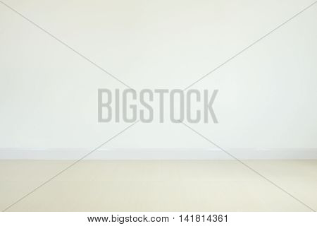 Empty concrete wall and the floor background
