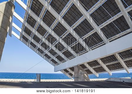 Solar Power Station at Forum area. This area held the 2004 Universal Forum of Cultures