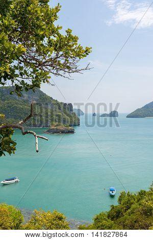 Angthong National Marine Park, Koh Samui, Suratthani, Thailand