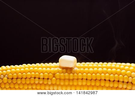 The Ear Of Yellow Boiled Corn