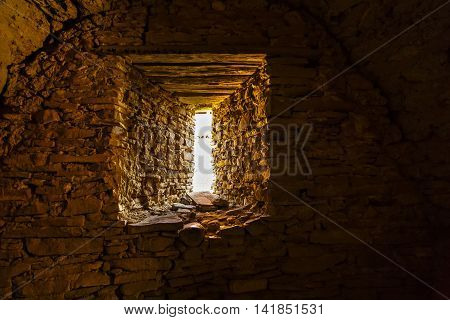 images from Viscri fortified monastery interior windows view