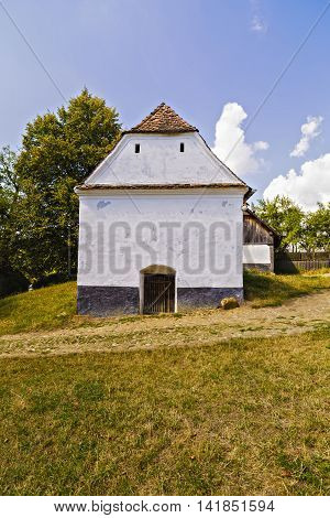 images from Viscri fortified monastery , Romania