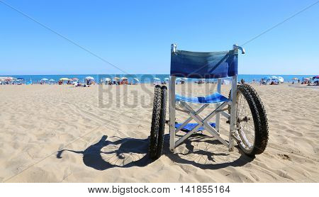 Isolated Wheelchairs For People With Mobility Problems