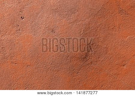 Plaster, plaster texture, plaster background. Old brick wall with plaster, photo texture, seamless background