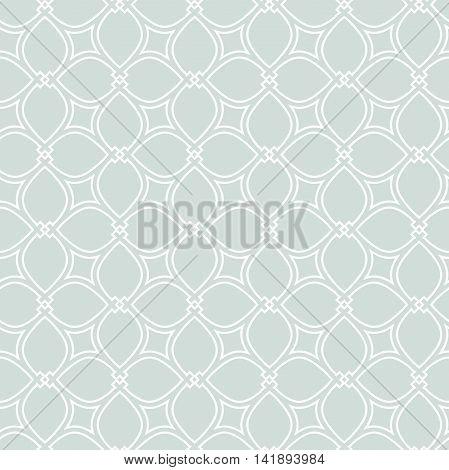 Seamless pattern . Modern geometric pattern. Fine pattern with repeating elements. Light blue pattern. Blue fine pattern