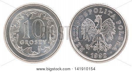10 Polish Groszy Coin
