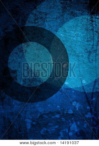 blue backgrounds book cover with space for name