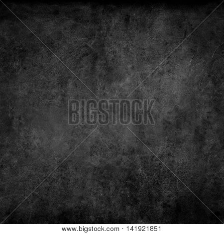 Black Chalkboard Texture Abstract Background Square