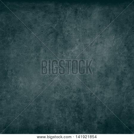 Turquoise Chalkboard Texture Abstract Blackboard