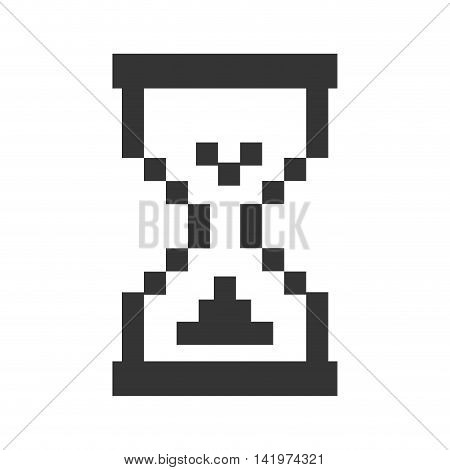 hourglass cursor sandclock loading clock time technology computer