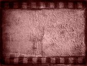 Great film strip for textures and backgrounds poster