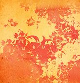 asia style textures and backgrounds poster